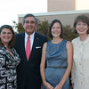 (L to R)Jennifer Hollifield, Louisville Mayor Abramson, Betsy Janes, and Madeline Abramson at the Medieval Fundraiser.  The mayor spoke at the event and gave high praise to the work of the American Lung Association, particularly on smokefree air issues.