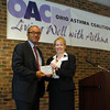 Columbus (OH) Mayor Michael Coleman was named a Clean Vehicle Champion by the national American Lung Association.  Shelly Kiser, Advocay Director, presented him with the award at the Ohio Asthma Conference October 8.