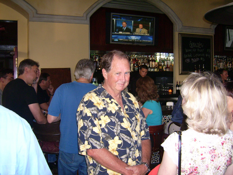 John Perkins, President & BBQ Chef extroirdinaire of Conjen Ski & Sports Club.