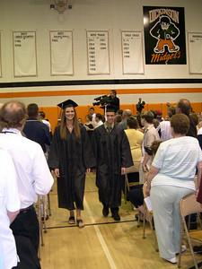 Derek graduates