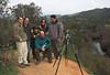 Dcha-Izqda. Jorge, Ana, Javier y Carlos Milla, Jose Luis Ojeda y yo (con el mando)
