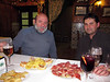 Javier, Vicen y el Ibérico que no falte. (cámara compacta)