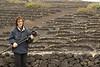Donde los alisios se encargan de peinarte y soplan húmedos sobre las rocas de lava. (Lanzarote)