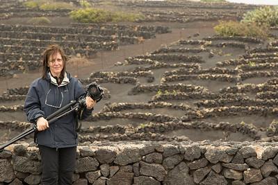 Donde los alisios se encargan de peinarte y soplan húmedos sobre las rocas de lava.