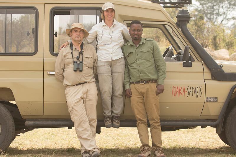 Junto al río Mara en el PN Serengeti (Tanzania)