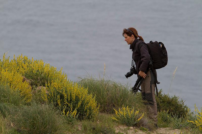 Ana en Cabo de Gata