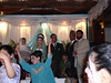 Amon and his bride (I work with Amon). An Afghan wedding is something to behold and experience ! There were 500 guests, music, dancing, kids, fun.....A Valentine's Day celebration for us Americans.