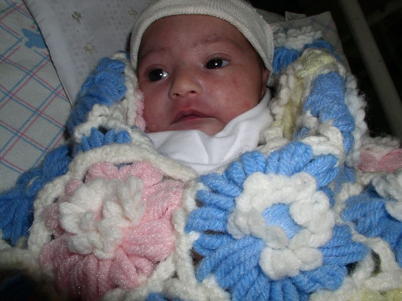Our abandoned baby - still in the nursery after 2 weeks,