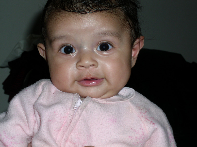 Anisa Marium Kayoumy is 4 months old. My Afghan-neice !