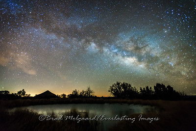 Milky Way over Manzanita Spring