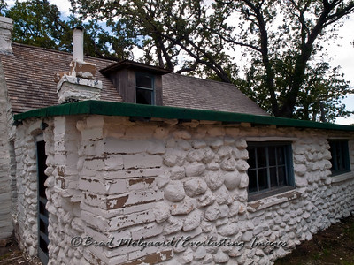 """Brick Stone"" Frijole Ranch-Guadalupe Mountains National Park, Texas"