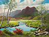 "Eden<br /> 24""x 18""<br /> oil on canvas<br /> 2008"