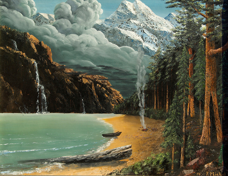 """Yosemite, California<br /> 24""""x 18""""<br /> oil on canvas<br /> 2006<br /> <br /> reserved"""