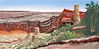 "Grand Canyon, Arizona<br /> 24""x 12""<br /> oil on canvas<br /> 2005"