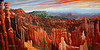 "Bryce Canyon National Park, Utah<br /> 48'x24""<br /> oil on canvas<br /> 2005"
