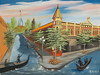 "Ellensburg, Washington<br /> 24""x 18""<br /> oil on canvas<br /> 2003 (touched up 2008)<br /> <br /> Darlene sister"