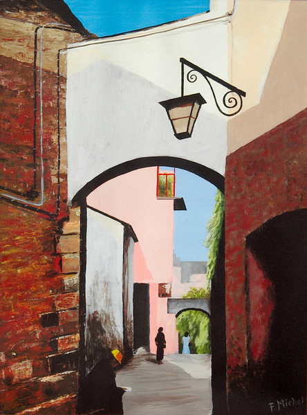 """France<br /> 18""""x 24""""<br /> oil on canvas<br /> 2004"""