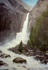 "BRIDALVEIL FALLS<br /> <br /> Yosemite, California<br /> 20""x 30""<br /> oil on canvas<br /> 2004<br /> <br /> LG"