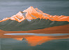 MOUNT RAINER SUNSET in progress
