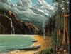 "SEQUOIA TREES NEAR YOSEMITE<br /> <br /> Yosemite, California<br /> 24""x 18""<br /> oil on canvas<br /> 2006<br /> <br /> reserved"