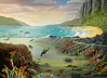 "HAWAII SEA LIFE<br /> <br /> Hawaii, USA<br /> 48""x 36""<br /> oil on canvas<br /> 2002<br /> <br /> sold to Alicia in TX"
