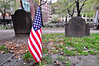 Patriots Day at The Old Granary Burying Ground, Boston.