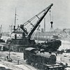 "Berth 81 at Plantation Quay was designated as a heavy crane berth and the 60-ton capacity Clyde Villa crane was utilised both as a fitting out facility and to load steam locomotives for export. It remained in service after the completion of the 130-ton cranes at Finnieston (in 1893) and Princes Dock (in 1895). Berth No 83 at Plantation Quay was set aside for general cargo work<br /> <br /> Another view of the Clyde Villa crane lifting export locomotives can be seen at the following link:<br /> <br />  <a href=""http://www.mitchelllibrary.org/virtualmitchell/image.php?i=16266&r=2&t=4&x=1"">http://www.mitchelllibrary.org/virtualmitchell/image.php?i=16266&r=2&t=4&x=1</a><br /> <br /> The 130 ton Finnieston Crane at Berths No 48 & 50 can be seen at:<br /> <br />  <a href=""http://www.mitchelllibrary.org/virtualmitchell/image.php?i=14554&r=2&t=4&x=1"">http://www.mitchelllibrary.org/virtualmitchell/image.php?i=14554&r=2&t=4&x=1</a><br /> <br /> and its sister crane at Berth No 31 on the west wall at Princes Dock Canting Basin can be seen at:<br /> <br />  <a href=""http://www.mitchelllibrary.org/virtualmitchell/image.php?i=16407&r=2&t=4&x=1"">http://www.mitchelllibrary.org/virtualmitchell/image.php?i=16407&r=2&t=4&x=1</a><br /> <br /> Note the berths in the docks were numbered on their on individual systems which were different from the riverside quay berth numbers. The riverside berths on the north bank were all even numbered commencing with berth No 2 at the Broomielaw and ending with Berth No 70 at the western end of Stobcross Quay. The southside river berths were all odd numbered, commencing with Berth No 1 at Clyde Place Quay (or Bridge Wharf after 1920) and ending with berth No 85 at Plantation Quay which was separated from the main part of the Quay following the opening of Princes Dock"