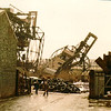 Demolition of the first Arrol-built ore  unloader, 6/1/1981