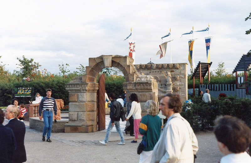 Entrance to the Stirling Maze