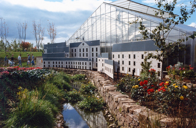 New Lanark Garden