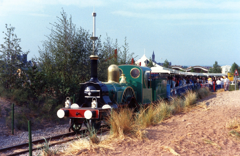 One of the 3 festival trains
