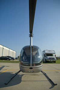 This Robinson R-22 provided by Sun Aero Helicopters in Lansing, IL was my aerial platform for these images.