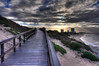Boardwalk at Summerstrand, Port Elizabeth, South Africa.