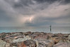 Approaching storm off Russian Beach - Image 2. Dubai, United Arab Emirates.