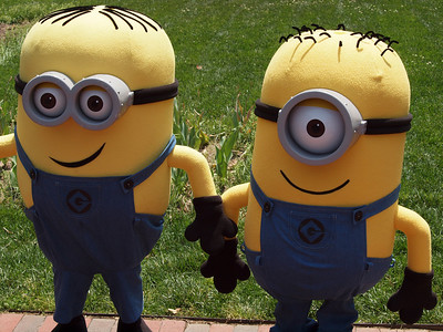 "From the New Movie ""Despicable Me"" Two of the Minions"
