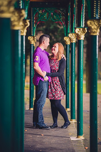 Walsall Arboretum Engagement Photos- Staffordshire Wedding Photographer