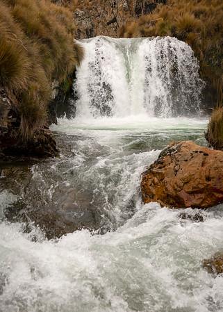 Waterfalls Above Viconga Hot Springs