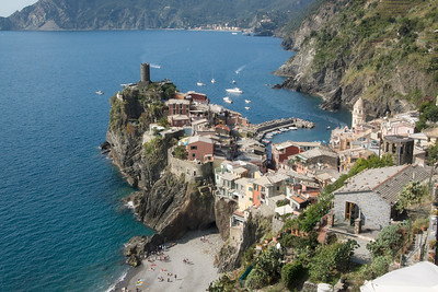 Vernazza & the Doria Castle