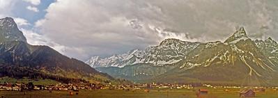 Bavarian Mountain Scene