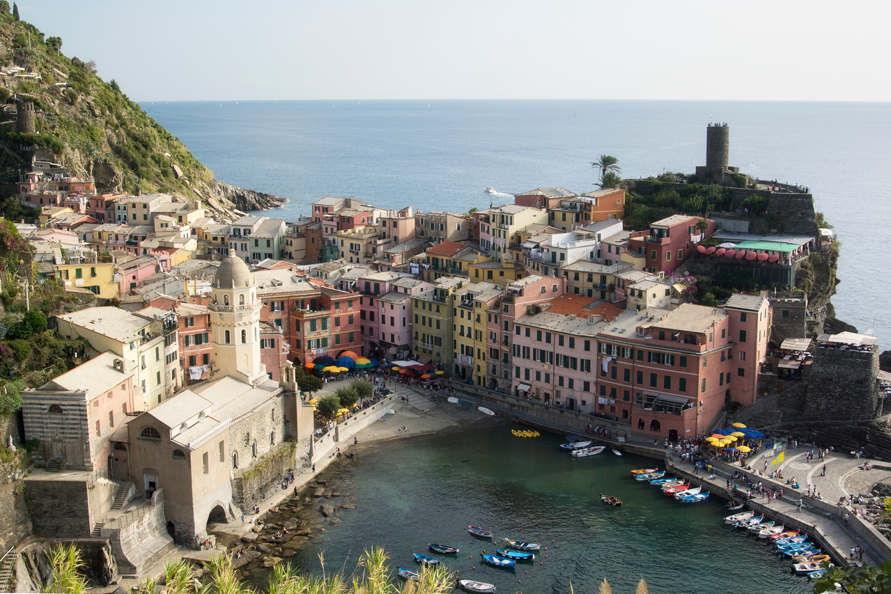 The Fishing Village of Vernazza (4th of the Cinque Terre Towns Heading North)