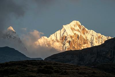 Sunrise On Nevado Carnicero
