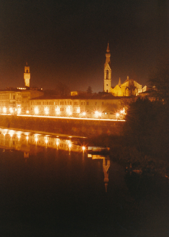 Arno River Reflections 3