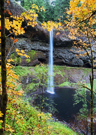 Silver Falls in Autumn