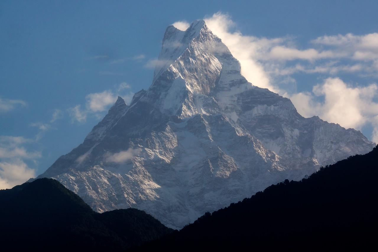 The 22,943' Mount Machhapuchhre