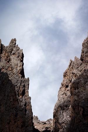 Ridgeline Close-Up 3 (4 Photo Stitched Panorama)