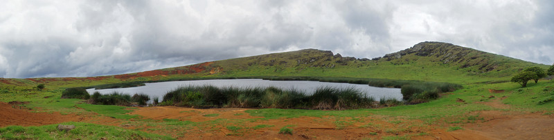 Quarry Crater (7 Photo Panorama)