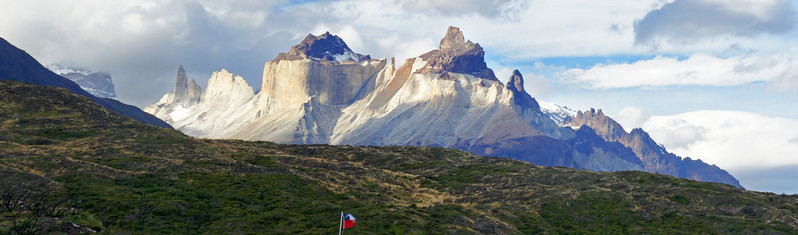The Horns of Paine (4 Photo Panorama)