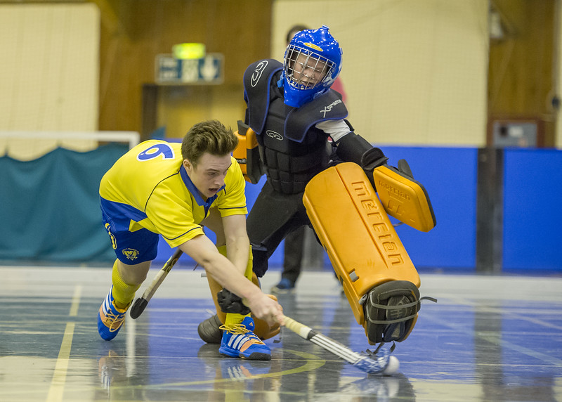 14 January 2017  at Bells Sports Centre, Perth.<br /> Scottish Boys under 18s Cup.<br /> Grange v Perthshire