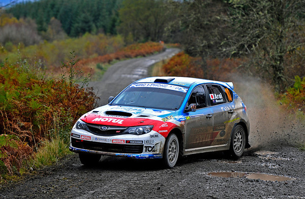 09.10.2011 IRC Rally of Scotland