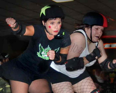 Ft Myers Roller Derby Girls Rock (n Roll!)
